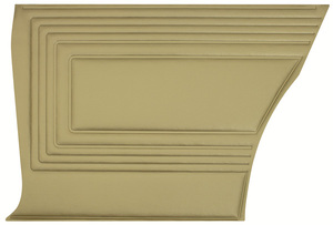 Door Panels, 1965 Reproduction GTO and Lemans Rear, Coupe and Sedan, by PUI