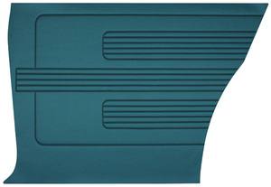 1967-1967 GTO Door Panels, 1967 Reproduction GTO and Lemans Rear, Coupe, by Distinctive Industries