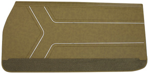 Door Panels, 1969 Reproduction GTO and Lemans Front, All, by Distinctive Industries