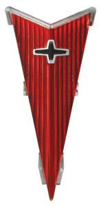 1969-1970 Grand Prix Hood Emblem Insert, 1969-70 Grand Prix (Arrowhead)