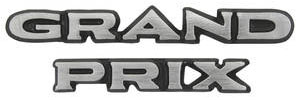 "1970 Pillar Post Emblem, ""Grand Prix"" Block"