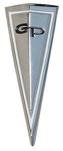 Hood Emblem, 1963 Grand Prix (Arrowhead)