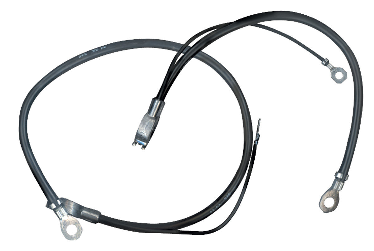 m u0026h gto battery cable  spring ring negative 6