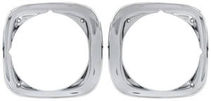 GTO Headlight Bezels, 1970