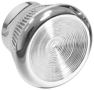 1967-1972 LeMans Dash Knob, Chrome Plastic, by RESTOPARTS