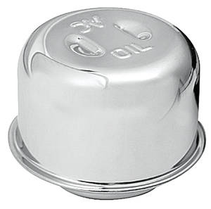 1964-1967 Catalina Oil Filler Cap Chrome Twist-on