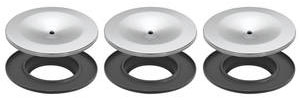 1966-1966 Cutlass Air Cleaner Lid & Base Kit, Tri-Power