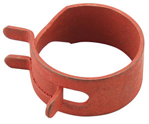 "1959-77 Bonneville Fuel Line Pinch Clamp PVC Line, 11/16"", Red Phosphate"