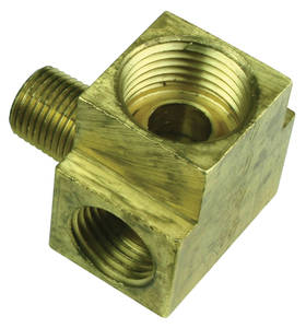 1964-66 Bonneville Fuel Block Weatherhead Fittings, Tri-Power