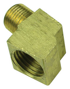 1964-66 Bonneville Fuel Block Weatherhead Fittings, 105-Degree