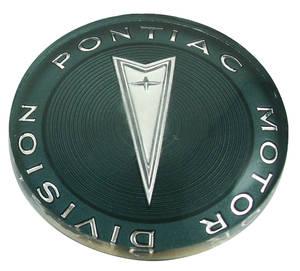 """1965-1968 Catalina Steering Wheel Horn Button Emblem 2-1/15"""" Diameter"""