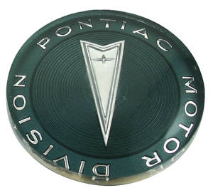 "1965-1968 GTO Steering Wheel Horn Button Emblem 2-1/15"" Diameter"