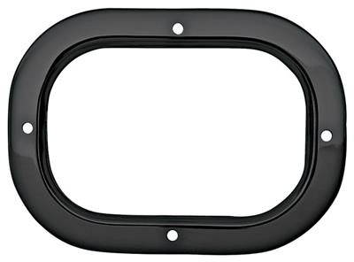 1968-72 GTO Shifter Boot Trim Plate, 4-Speed Manual Chrome