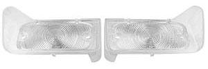 1965-1965 LeMans Park Lamp Lenses (GTO, Tempest & LeMans) Clear