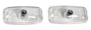 1966-1967 GTO Park Lamp Lenses, 1966-67 Clear, GTO