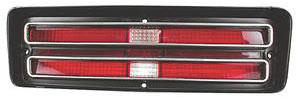 Tail Lamp Lens, 1968 (GTO)