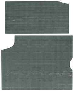 1964-66 GTO Trunk Mat 2-Piece (Aqua)