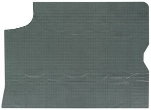 1967-1967 LeMans Trunk Mat 1-Piece (Aqua)