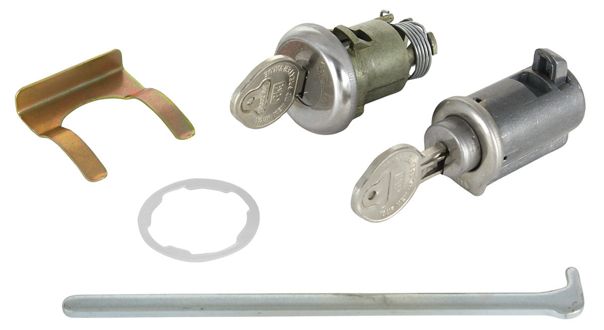 Photo of Lock Set: Glove Box & Trunk Pearhead Key
