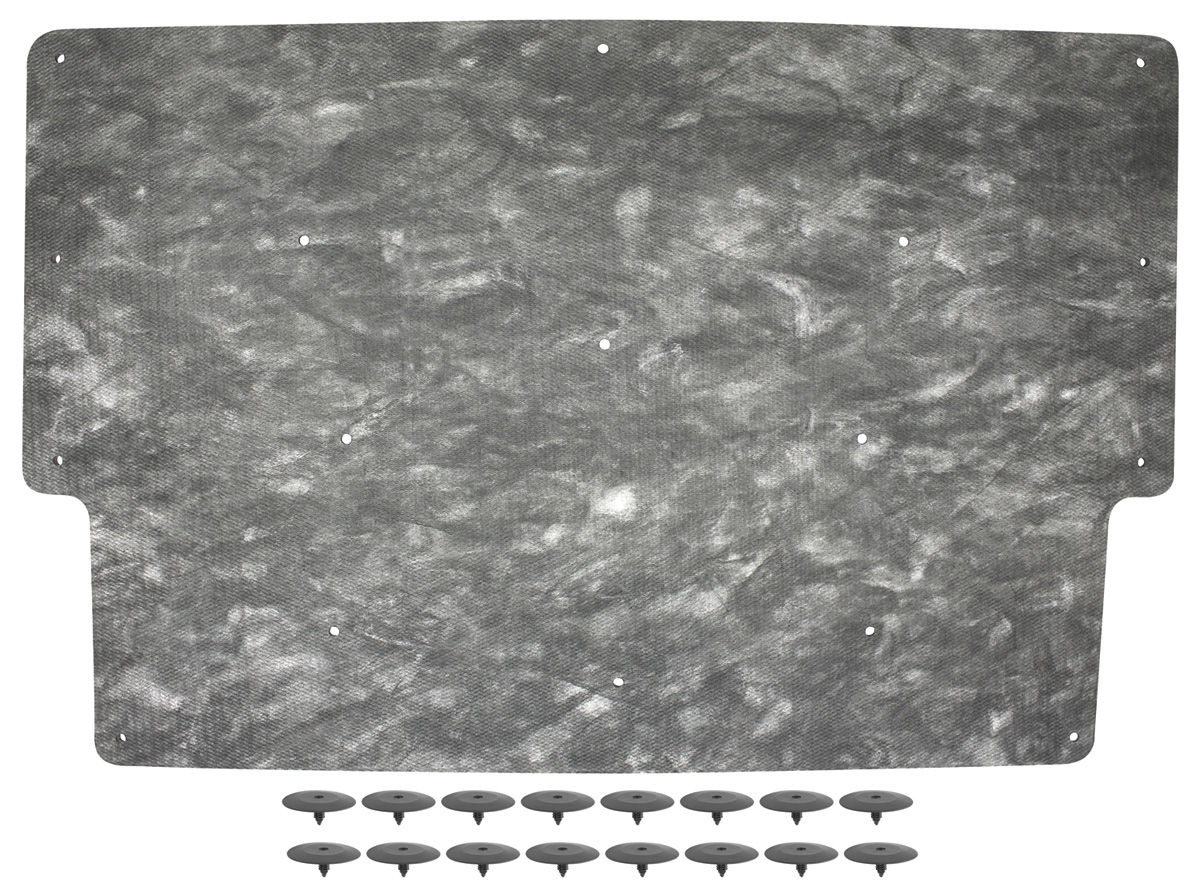 Photo of Hood Insulation all (incl. clips)
