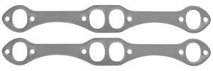 1978-88 El Camino Header Gaskets, Super Competition Small-Block, Round