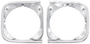 Chevelle Headlight Bezels, 1972