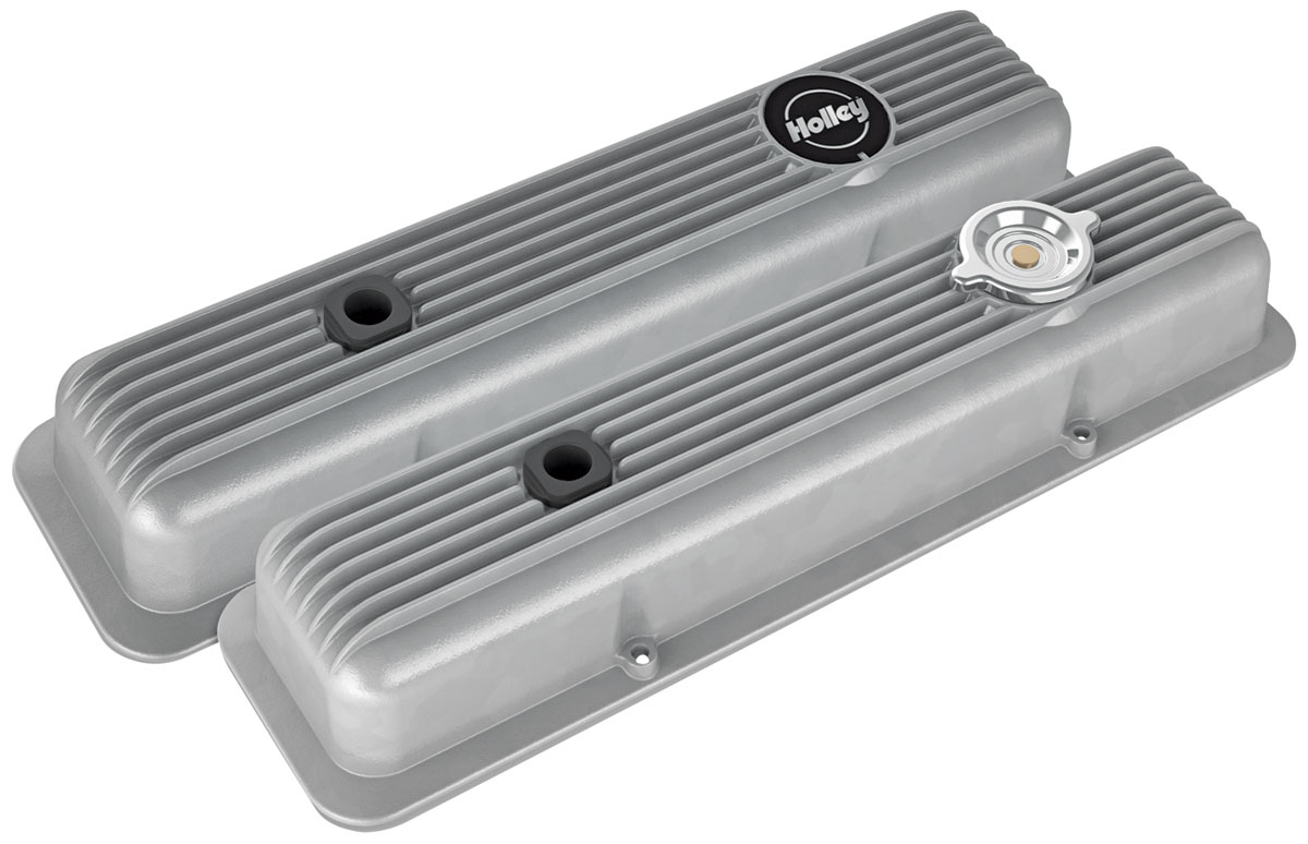 Photo of Valve Covers, Muscle Series black