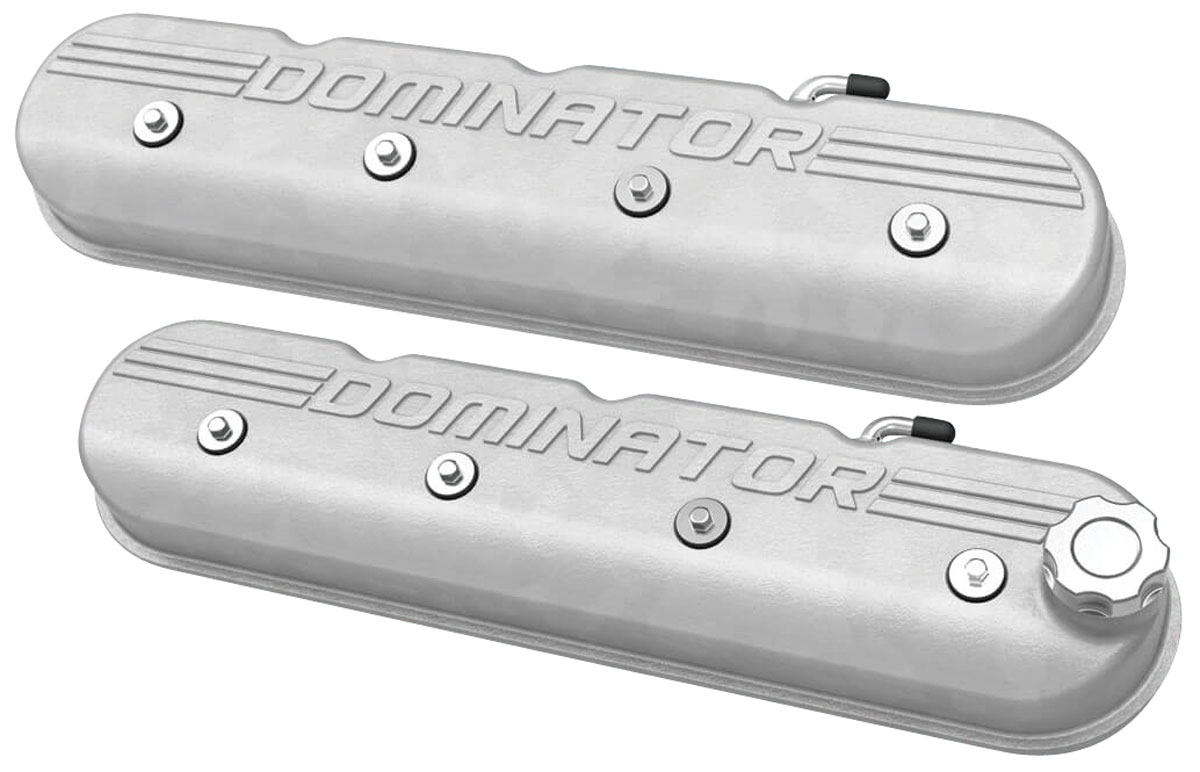 Photo of Valve Covers, LS Tall w/ dominator logo