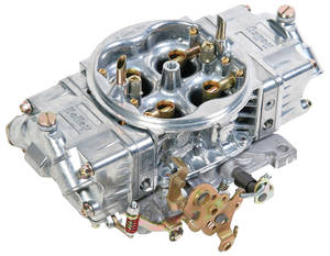 1959-1976 Bonneville Carburetors, Street HP Series Mechanical Secondary 650 CFM, Shiny Finish