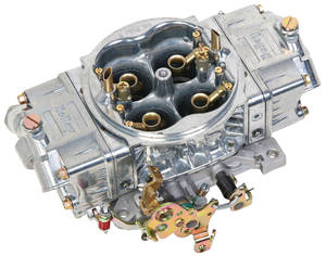 1959-76 Bonneville Carburetors, Street HP Series Mechanical Secondary 950 CFM, Shiny Finish