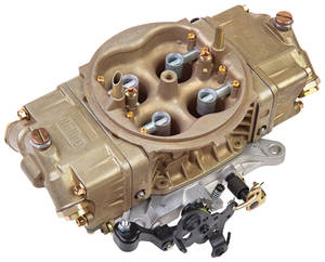1978-88 El Camino Carburetors, Street HP Series Mechanical Secondary 650 CFM, Classic Finish