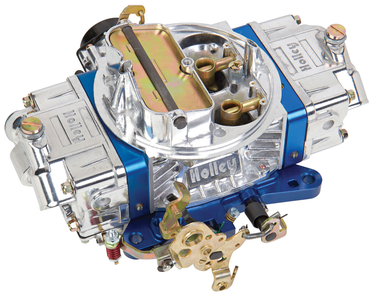 Photo of Carburetors, Ultra Double Pumper 650 Cfm blue