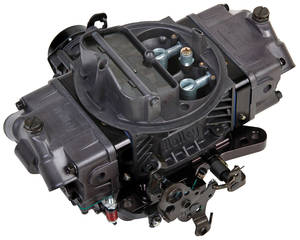 1978-88 El Camino Carburetors, Ultra Double Pumper 650 Cfm Hard Core Gray Finish