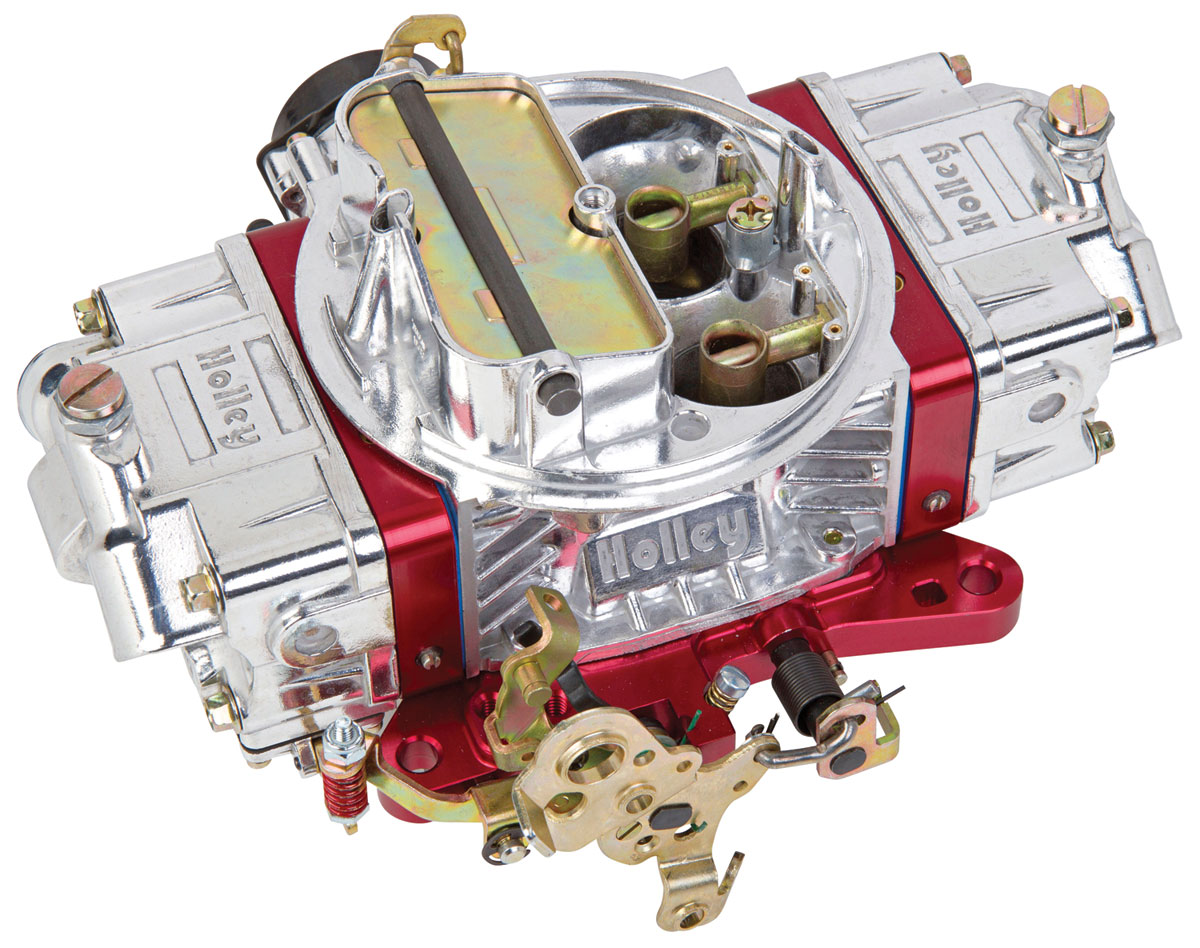 Photo of Carburetors, Ultra Double Pumper 650 Cfm red