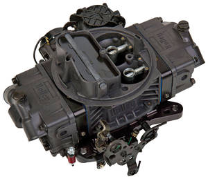 1978-88 El Camino Carburetors, Holley, Ultra Street Avenger 670 Cfm Black Billet Aluminum Finish