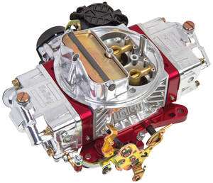 1978-88 El Camino Carburetors, Holley, Ultra Street Avenger 670 Cfm Red Metering Blocks