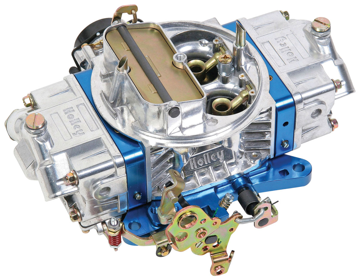 Photo of Carburetors, Ultra Double Pumper 850 Cfm blue