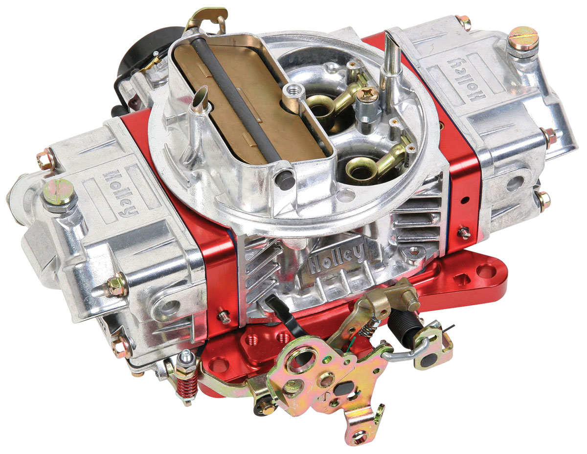 Photo of Carburetors, Ultra Double Pumper 850 Cfm red