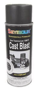 1962-1977 Grand Prix High-Heat Cast Gray Coating 12-oz.