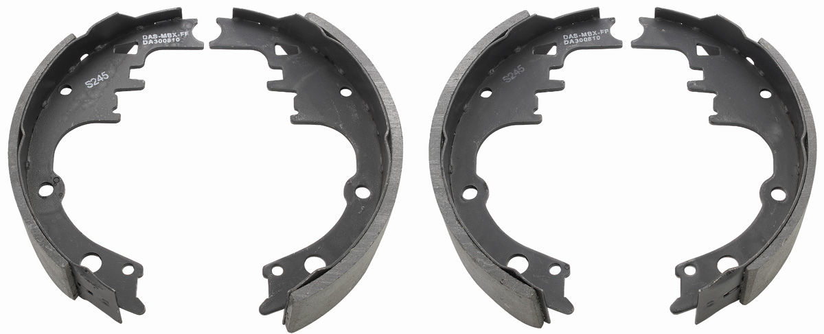 "Photo of Tempest Brake Shoes (Drum) rear, 9-1/2"" x 2"""