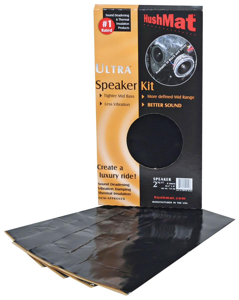 """Photo of Sound Deadener, Ultra speaker kit (2 sheets 10"""" x 10"""")"""