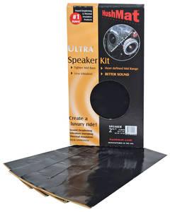 """1959-1976 Bonneville Sound Deadener, Ultra Speaker Kit (2 Sheets 10"""" X 10"""")"""