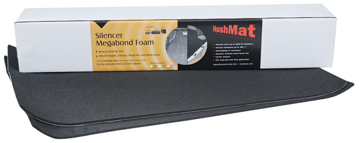 "Photo of Sound Deadener, Silencer Megabond Door/Headliner Kit 2 sheets 1/4"" x 23"" x 36"""
