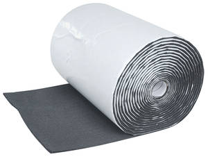 "Sound Deadener, Silencer Megabond Roll Kits 1 Roll 24"" X 50' X 1/2"""