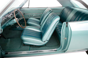 1964-1964 Chevelle Interior Kit, Chevelle Stage III, Bucket, Convertible Plastic Rear Window