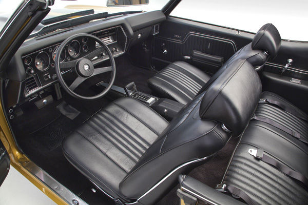 1971 1972 interior kit chevelle stage iv bucket coupe