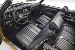 1971-1972 Chevelle Interior Kit, Chevelle Stage IV , Bucket, Convertible w/Plastic Rear Window