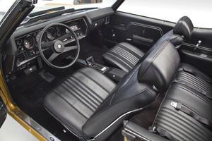 1971-72 Interior Kit, Chevelle Stage IV , Bucket, Convertible w/Plastic Rear Window