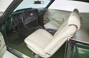 1970-1970 Chevelle Interior Kit, Chevelle Stage IV , Bucket, Convertible w/Glass Rear Window