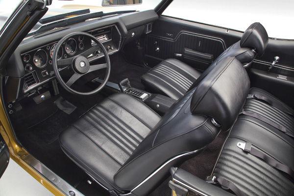 1971 72 Interior Kit Chevelle Stage Iv Bucket